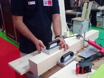 Felder Gruppe Romania – repararea defectelor din lemn cu Novoryt