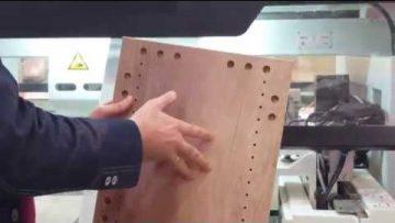 Lohmeyer NCB3010S CNC de găurit pentru producția de mobilier