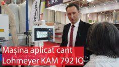 Mașina de aplicat cant Lohmeyer KAM 792 IQ