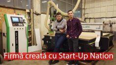 MDI Wood Ideas, născută în urma programului Start-Up Nation