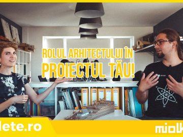 Rolul arhitectului în proiectul tău || Pachetul de cunoaștere înainte de prima schiță