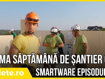SmartWare – prima săptămână de șantier CLT – ep#3