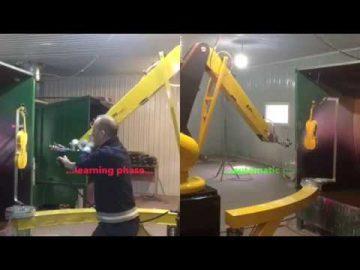Vopsirea mobilierului cu robotul Epistolio