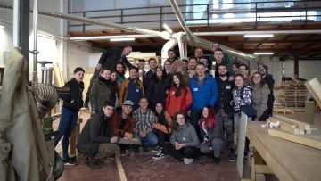 Workshop timberframe cu studenții din Cluj – @INFOTECH