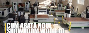 Cum arată noul showroom Wood-IQ