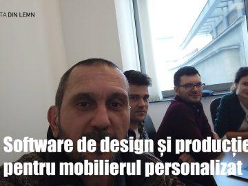 Software complet de design și producție pentru mobilierul personalizat