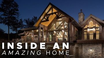 Inside an AMAZING Home – Finished Basement, Porches, Mudroom, Laundry Room Ideas! Episode 3