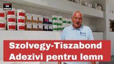 Interviu de firmă – Szolvegy, distribuitor de adeziv pentru lemn