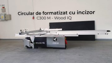Circular de formatizat cu incizor C 300M – Wood IQ