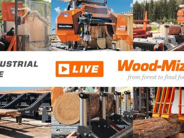 Wood-Mizer LIVE | WB2000 Wide Band Sawmill and MR200 Double Arbor Multirip | Wood-Mizer Europe