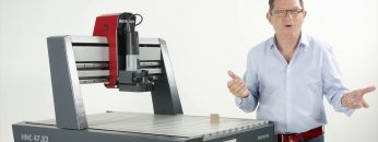 Hammer® HNC CNC portal milling machine: technical data and precision check
