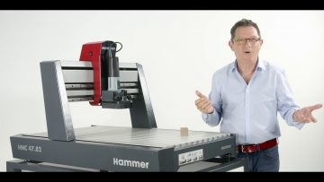 Hammer® HNC CNC portal milling machine: technical data and precision check