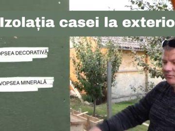 Casa Miroslava ep.2 – Finisare fațadă exterior