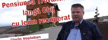 Pensiune lângă Cluj cu lemn recuperat – Trovantland